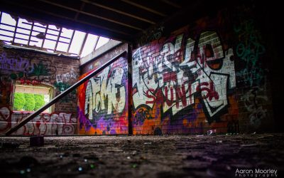 Abandoned Brewery – Graffiti Wall